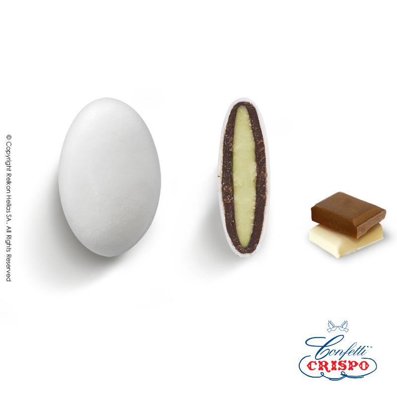 Κουφέτα CiocoPassion Λευκό  Διπλή σοκολάτα (πυρήνας λευκής με επικάλυψη γάλακτος)  Τεμ./kg:190 - 210  Τύπος:Ματ  Συσκευασία:1kg  Συντήρηση