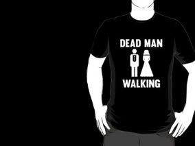Bachelor Party t-shirt - Dead man