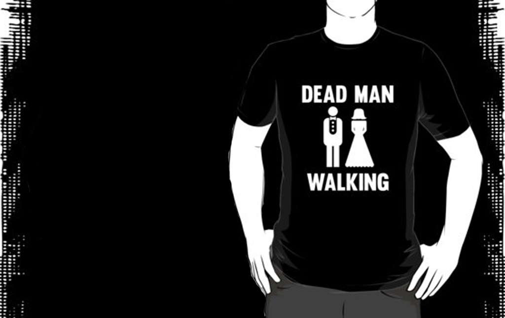 Bachelor Party t-shirt - Dead man
