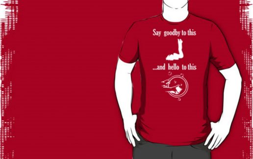 Bachelor party t-shirt Say Goodbay