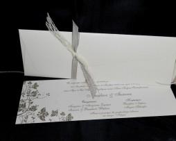 Προσκλητήριο Γάμου Λοξός Φάκελος