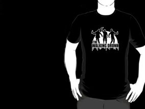 Bachelor Party t-shirt - The Wallking Drunk