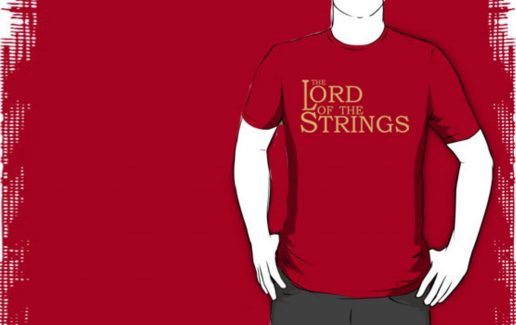Bachelor party t-shirt The Lord of the Strings