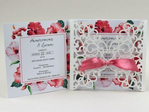 prosklitirio-gamou-lasercut-floral-roses-g2826