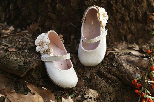 Παπούτσια Βάπτισης Χειμερινά για Κορίτσι